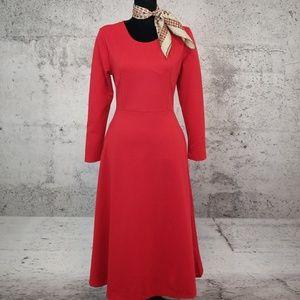 Dresses & Skirts - CHEAPIE Round Neck Plain Maxi Dress